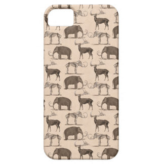 Pre-Historic Mammals Megaceros and Woolly Mammoth Case For The iPhone 5