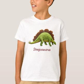 Pre-Historic Stegosaurus Dinosaur Kids T-Shirt