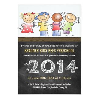 Pre-K Class of 2014 Chalkboard Grad Card