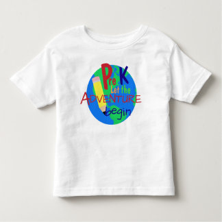 Pre K Let the Adventure Begin Shirt