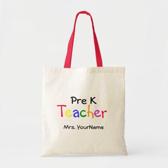 Pre K Teacher Bag