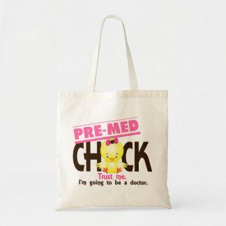Pre-Med Chick 3 Budget Tote Bag