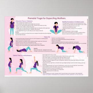 Pre Natal Yoga Posters