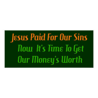 Pre-Paid Sin Poster