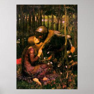 Pre-Raphaelite Poster By John Waterhouse