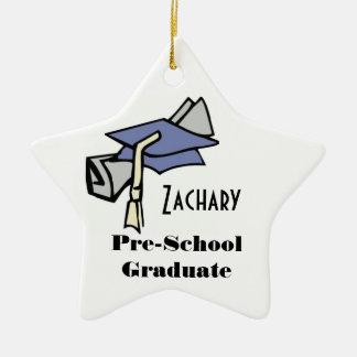 Pre-School Graduate (Customizable) Christmas Ornament