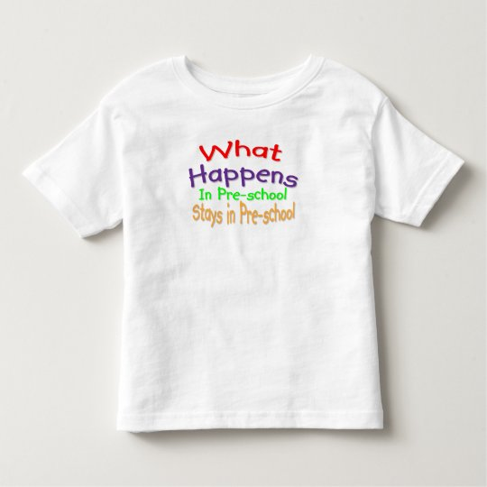 Pre school toddler T-Shirt