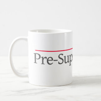 """PRE-SUPER LAWYER"" -- COFFEE MUG"