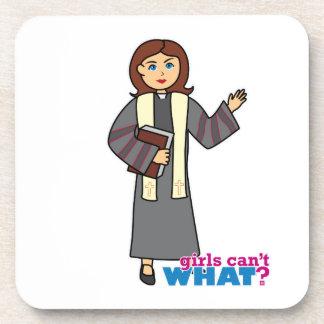 Preacher Girl Drink Coasters