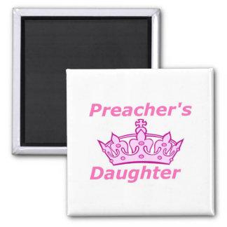 Preacher's Daughter Square Magnet