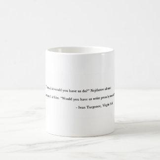Preachy novels basic white mug