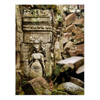 Preah Khan Apsara Postcard