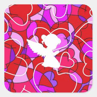 Precious Angel. Square Sticker