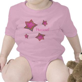 """Precious"" Baby Girl Baby Bodysuits"