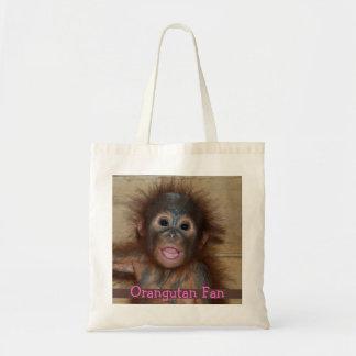 Precious Baby Orangutan Tote Bag
