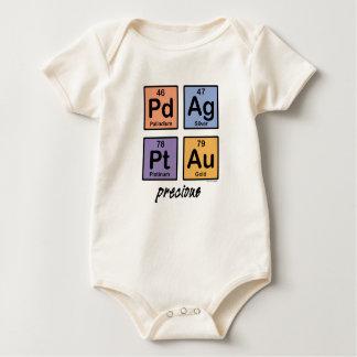 Precious Baby Organic Rompers