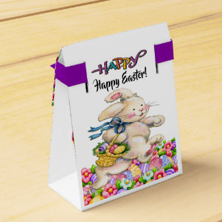 Precious Bunny Easter Container - See Front Favour Box