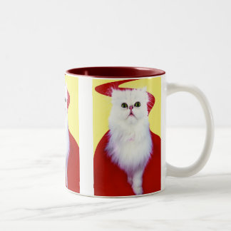 Precious Cat and Kitten Photos, Gifts - Customise! Two-Tone Mug