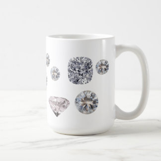 Precious Diamonds Basic White Mug