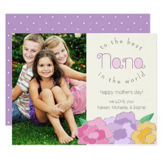 Precious Florals Happy Mother's Day Nana Card