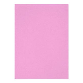 Precious in pink custom invites