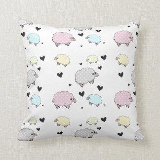 Precious Little Baby Sheep Pattern Cushion