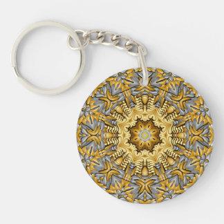 Precious Metal Acrylic Keychains, 6 styles Key Ring