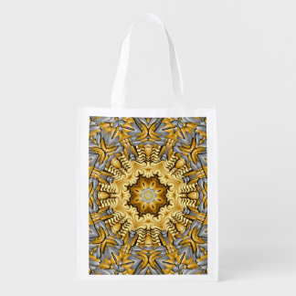 Precious Metal Colorful Reusable Bags Market Totes
