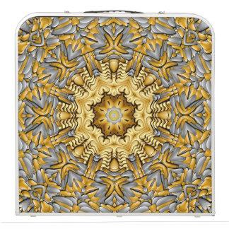"Precious Metal     Kaleidoscope  48"" Pong Table"
