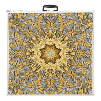 "Precious Metal  Kaleidoscope  96""  Pong Table"