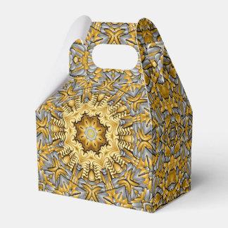 Precious Metal Kaleidoscope Gable Favor Box Favour Boxes
