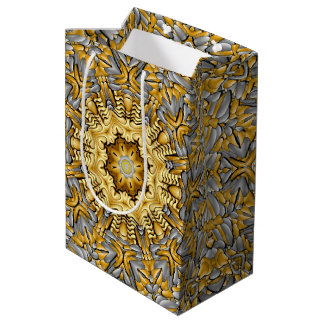 Precious Metal  Kaleidoscope Medium Gift Bag