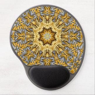 Precious Metal  Vintage Kaleidoscope  Gel Mousepad Gel Mouse Mat