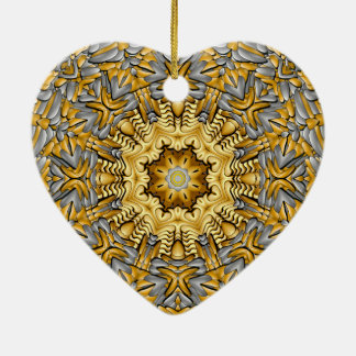 Precious Metal  Vintage  Kaleidoscope Ornaments