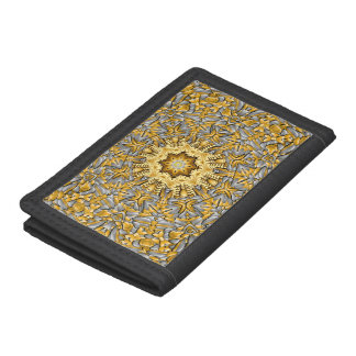 Precious Metal Vintage Kaleidoscope Wallet