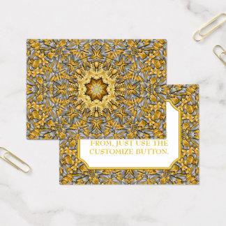 Precious Metal Vintage Pattern  Business Cards