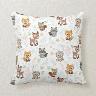 Precious Moments | Woodland Baby Pattern Cushion