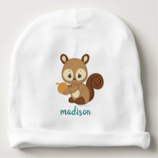 Precious Moments | Woodland Baby Squirrel Baby Beanie