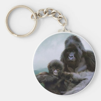 PRECIOUS ~ Mtn Gorilla Key-chain Key Ring