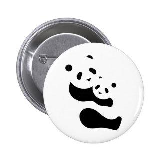 Precious Panda Bears Pinback Buttons