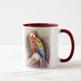 Precious Parrot Mug