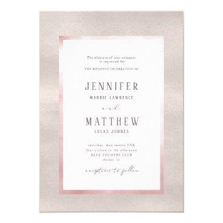 Precious Pearls Wedding Invitation