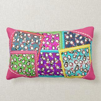Precious Penguins Lumbar Pillow