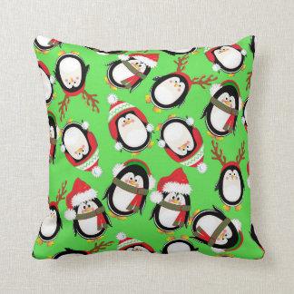 Precious Penguins Pillow