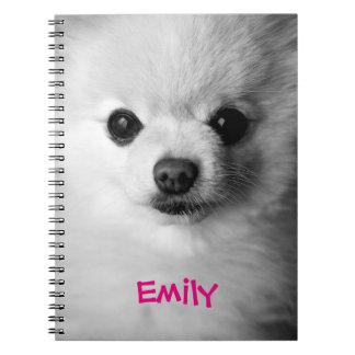 Precious Pomeranian Notebook
