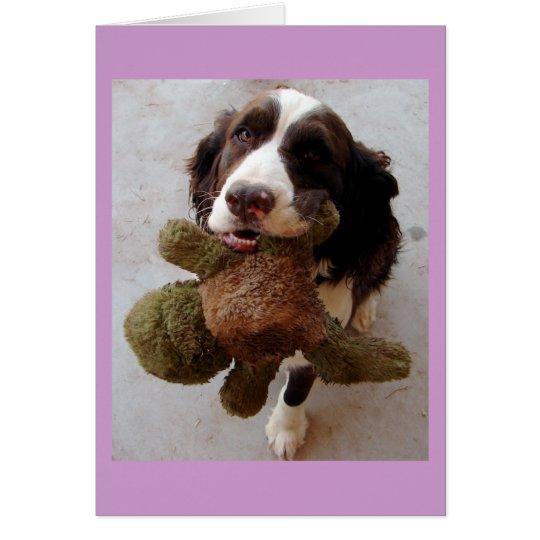 Precious Puppy Card
