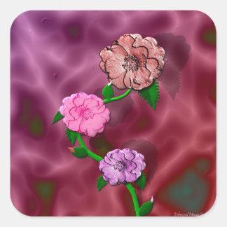 Precious Rosebud Sticker