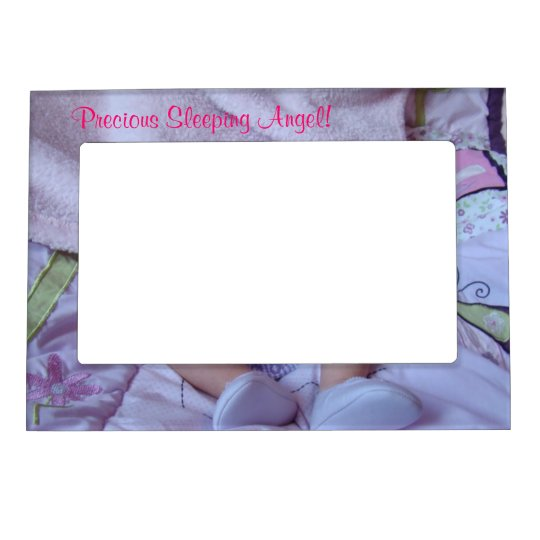 Precious Sleeping Angel! Baby photo Frames Feet
