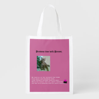 Precious time with Parumi-mini bag Grocery Bag