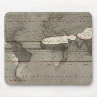 Precipitation World Map Mouse Mat